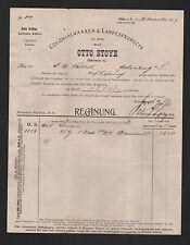 HALLE/SAALE, Rechnung 1904, Otto Stoye Kolonialwaren & Landesprodukte