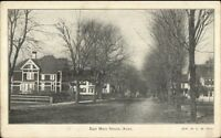Ayer MA East Main St. c1905 Postcard
