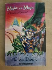 Vintage - Might and Magic Clouds of Xeen Clue Book New World Computing