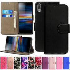 Leather Flip Case Wallet Stand Cover For Sony Xperia XZ XZ2 Premium Compact XZ3