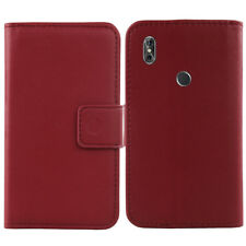 For Samsung Galaxy S i9000 S1 i9008 -Genuine Real Leather Cover Flip Case Wallet