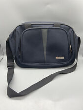 TAG Blue Zip Up 2 Pocket With Handle and Shoulder Strap Business And Laptop Bag