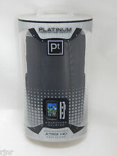 Seidio Platinum Case Smartcase + Holster for Motorola Atrix HD Black NEW in Box