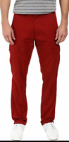 NWT Mens Levi's 541 Athletic Fit Tapered Leg Red Cargo Jeans Pants (248770006)