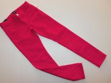 Nwt Gap Girl's Skinniest Leg Jeggings Stretch Corduroy Denim Pink L-10 New