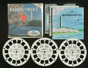Sawyer's View-Master Packet #A790 Style S6c Washington D.C. Famous Cities Series