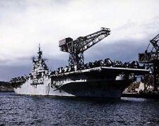 """U.S. Navy Aircraft Carrier USS Antietam 8""""x 10"""" Korean War Photo 18"""