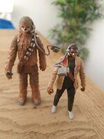 Star Wars Force Awakens Figures Chewbacca Plus Finn