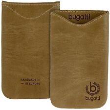 Bugatti Skinny desert braun Leder Tasche f Samsung Galaxy Note N7000 i9220 Case