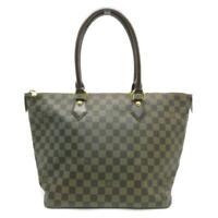 Auth Louis Vuitton LV Saleya MM Shoulder Bag N51188 Damier Brown 8314