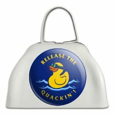 Release the Quackin' Kraken Duck Funny Cowbell Cow Bell Instrument