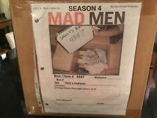 MAD MEN TV Drama Original Movie Prop SALLY DRAPER'S Books & Moving Box