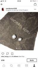 michael kors earrings silver