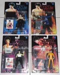 Bruce Lee Figures X 4