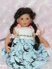 Monique CONNIE Doll Wig SZ 4/5~French Braids~DK Brown~Full Cap~Modacrylic~DISC
