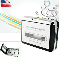 Portable USB Powered Cassette Tape to MP3 iPodCD Converter Capture Music Player