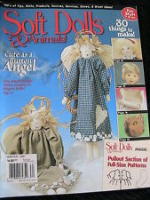 SOFT DOLLS & ANIMAL WINTER 1997 doll patterns, techniques, tips, magazine