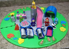 VINTAGE    HOME ON THE HILL PLAY SET  WITH 4 X TELETUBBIES
