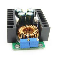 DC-DC Adjustable Voltage CC CV Buck Converter 7-40V to 0.8-28V 12A 300W 12V/5V