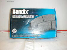 Bendix MKD1334 Semi-Metallic Brake Pad Set With abutment kit
