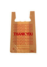T-shirt Thank you Plastic retail Carry out, take away, Check out bag 15x7x26