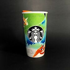 STARBUCKS MALAYSIA Dot Collection 2016 Ceramic Travel Mug Kite KL 16oz