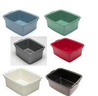 Plastic Butler Large Rectangular Bowl, Washing Up Sink Basin- 12 Litre