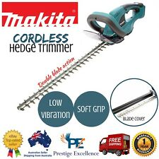 New Makita Hedge Trimmer Cordless Garden Yard Tool Plant Pruner Brush Cutter 18V