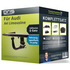 Anhängerkupplung ORIS abnehmbar für AUDI A4 Limousine +E-Satz (AHK und ES)