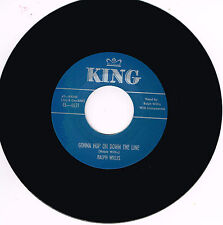 RALPH WILLIS - GONNA HOP ON DOWN THE LINE / WHY'D YOU DO IT (Country Blues Bop).