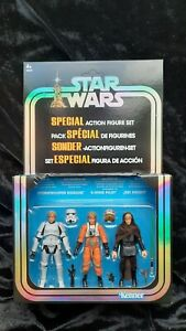 NEW STAR WARS VINTAGE COLLECTION  LUKE SKYWALKER SDCC 2019 Damaged Packing.