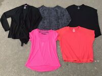 Danskin Now Athletic Works Yoga Athleisure Top Lot L Xersion Tunic