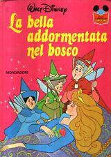 MU5 La bella addormentata nel bosco Disney Mondadori 1985