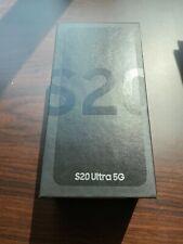 Brand New in Box Samsung Galaxy S20 Ultra 5G  Cosmic Black (Unlocked)