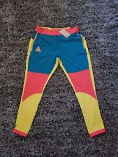 Nike ACG Utility Mens Tights Pants Teal Green Citron Yellow Habanero Red