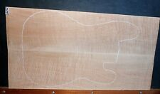 Flame Curly Maple 8574 Luthier WILD WOOD Electric Guitar Top 27x14x.75