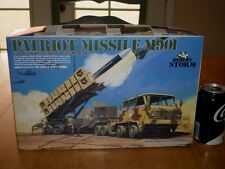 DESERT STORM - PATRIOT MISSILE M901, PLASTIC MODEL KIT, SCALE 1/48