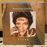 ROSSANA CASALE - TERRA - PIOGGIA - vinile 45 giri NUOVO 1991
