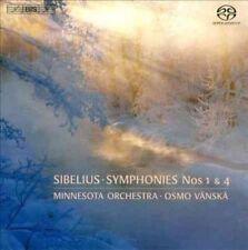 Sibelius Symphonies Nos. 1 & 4 Minnesota Orchestra 7318599919966