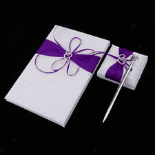 Wedding Satin Crystal Guest Book Pen Wedding Reception Guest Signing Signature