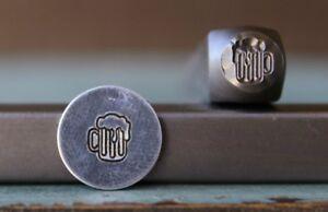 SUPPLY GUY 6mm Beer Mug Metal Punch Design Stamp SGCH-168