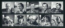 Great Britain Scott #3273a//3278a MNH STRIPS Famous People CV$18+ ISH-1