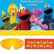 SESAME STREET ELMO Party Game Party Supplies For 2 To 8 Players
