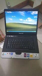 "Packard Bell Argo C Laptop Notebook 15.4"" 512MB 40GB Windows XP ATI Radeon"