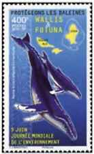 Timbre Faune marine Cétacés Baleines Wallis et Futuna 870 ** de 2017 lot 26701