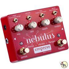 Empress Nebulus Chorus Flanger Vibrato True Bypass Guitar Effects Pedal
