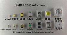 10 Stück SMD LED 3528 kaltweiß