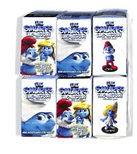 WIZKIDS THE SMURFS TAG-ATHON GAMING FIGURES LOT OF (6) NEW SEALED LITTLE BOXES