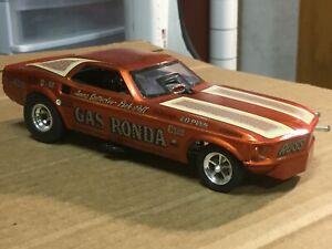 built 1/25 Gas Rhonda funny car model