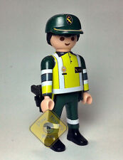 PLAYMOBIL CUSTOM ☆ POLICIA ☆ GUARDIA CIVIL - MOTORISTA - ATESTADOS TRÁFICO